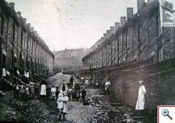 Rue de l'Echelle - huizen van de arbeiders